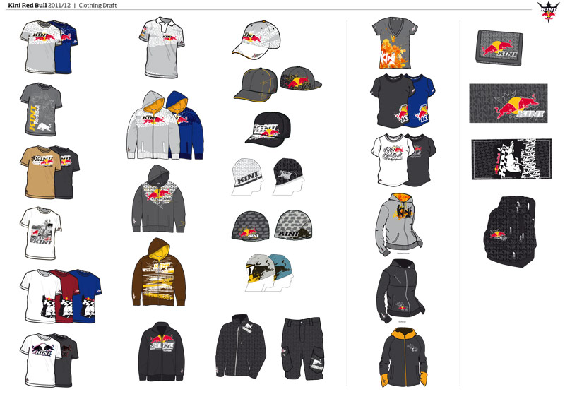 Kini Red Bull Clothing Collection 2011/12